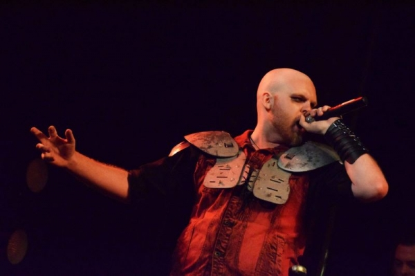 Performing/Acting live with Queen Boudicca: A Metal Opera!