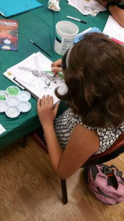 A student from my Cartooning Class at Cuesta College For Kids. (Summer of 2017)