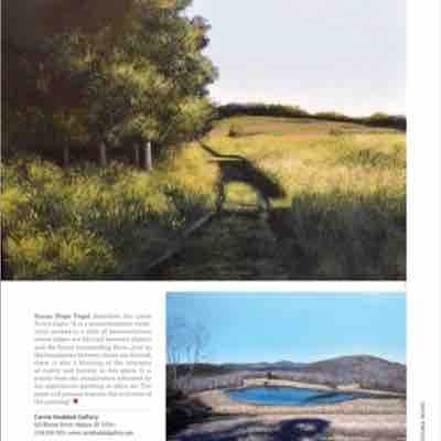 My paintings were recently featured in American Art Collector magazine!