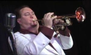 "Portraying Louie Prima with Randy Caputo's ""Legends Show Band""."