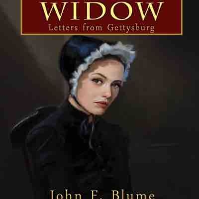 """Final illustration """"The widow"""" concept book cover."""