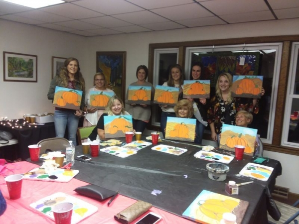 Painting party!