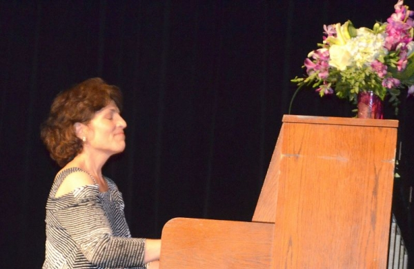 Solo Piano Performance at the Liberty Theater in North Bend, Oregon