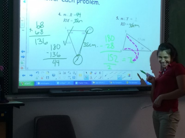Bringing Geometry to Life with an Interactive Smartboard.
