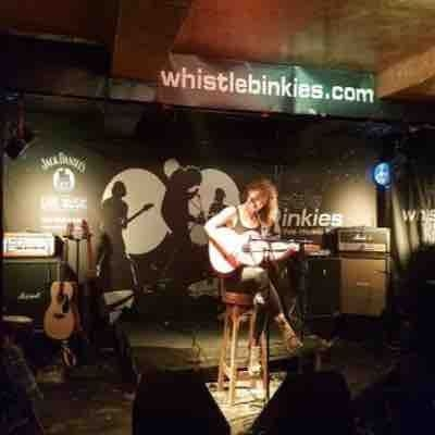 I spent the autumn of 2018 traveling. I had the great privilege of performing at a bar in Edinburgh, Scotland.
