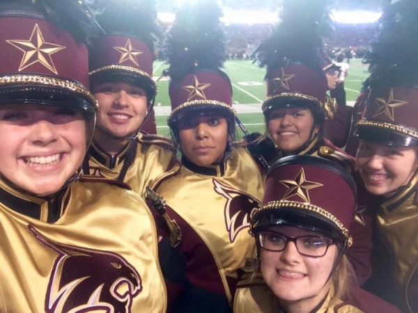 Bobcat Marching Band Spirit!