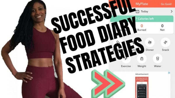 Definitely consider a food diary app. It's a tool that can help you stay on track, and there are plenty of free options.