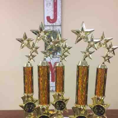 My superstar students attain these trophies every year