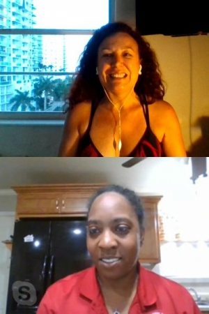 Spanish online lesson with Camesha