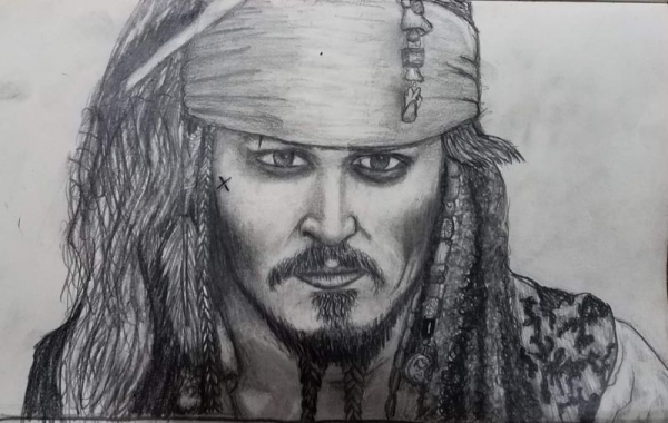 Drawing by 11 year old student