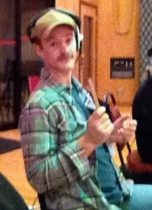Recording sessions are the best because you don't need to dress up for work! :-)