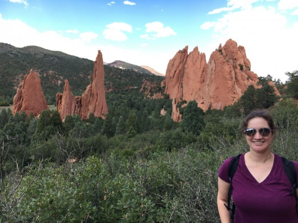 i enjoy hiking and exploring all the beauty Colorado Springs has to offer