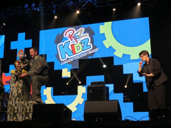 Interpreting for RezKidz Conference.