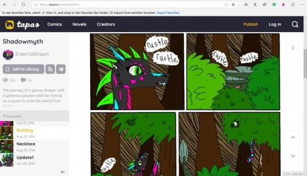 Example student comic created by a 11-year-old student from my Comic Book Creation Class at Cuesta College For Kids.