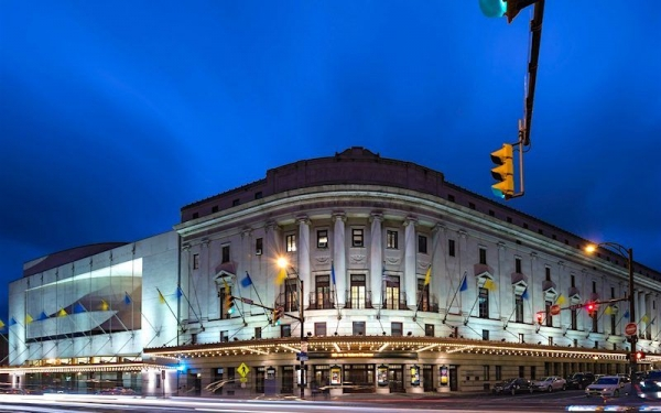My current center of learning: The Eastman School of Music. This building is where I host bass lessons.
