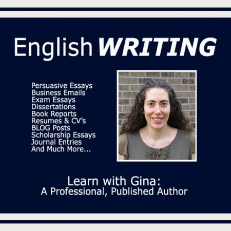 Work on improving YOUR writing with Gina, today!