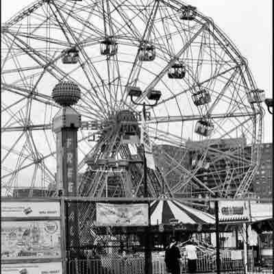 Love black and white photography, as well. Coney Island, NY