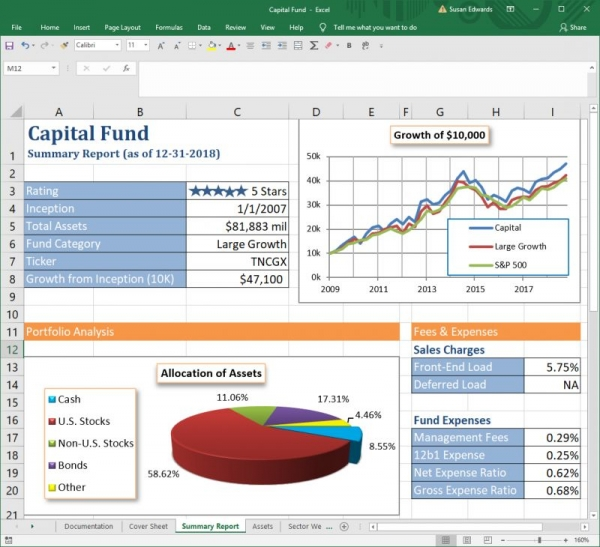 Doing Financial Analysis in Excel