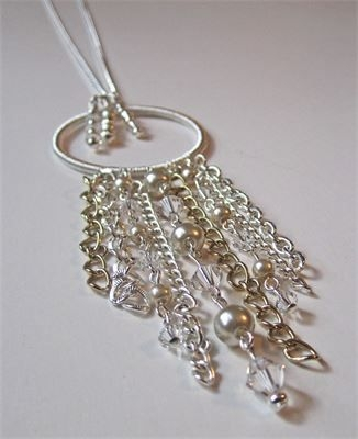 Tassel Wire Wrapped Long Necklace