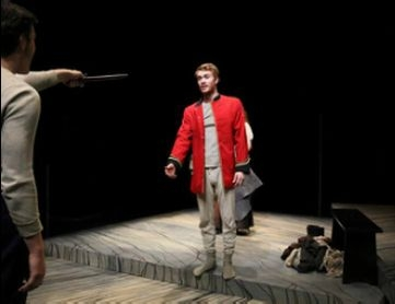 Jake as Sparky in Sgt. Musgrave's Dance
