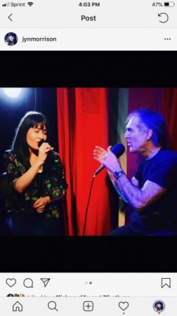 Performing a live Jazz duet with Nick Dukas broadcasted on VPN Foundation in Tampa.