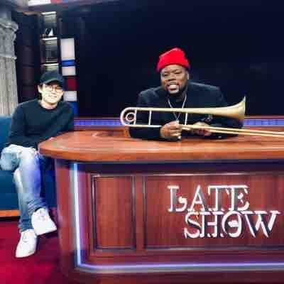 After performing on The Late Show With Stephen Colbert, with Jon Batiste & Stay Human, with special guest Benny Golson!