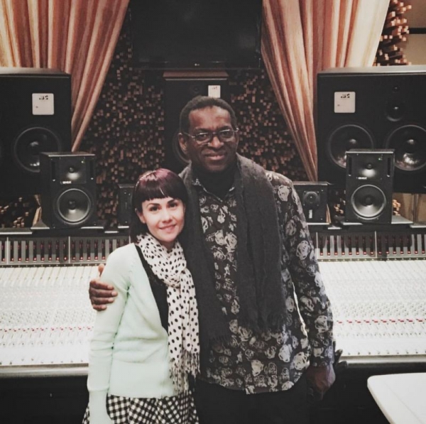 Such a humbling experience to work with Willie Weeks at Blackbird studios in Nashville TN on a production for one of my students.