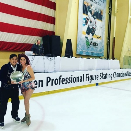 US Open Professional Figure Skating Championships, Las Vegas with Ashley Clark