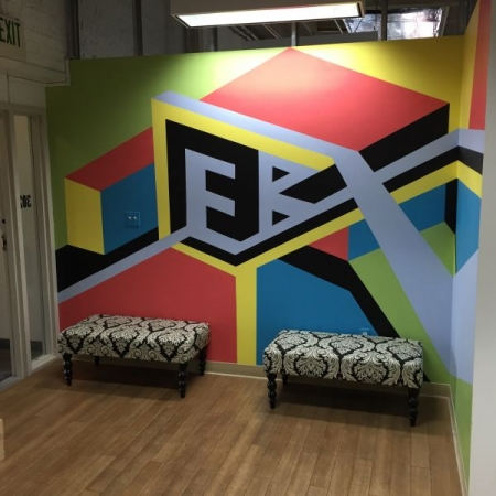 This is a mural I was commissioned to paint for the East Bay Express in Oakland, California. 2016