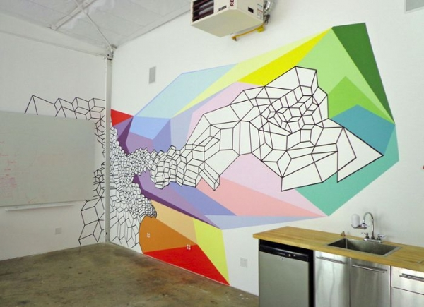 Mural commission for a start up company in San Francisco. 2014