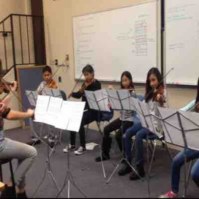 Memorial Preparatory Middle School Strings class 2017