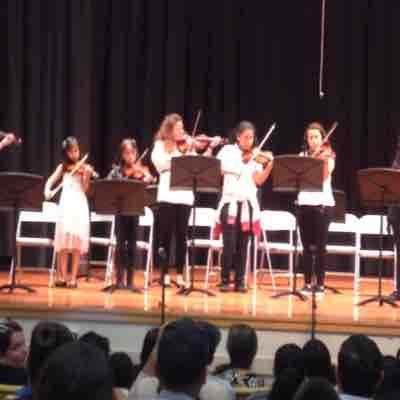 Memorial Preparatory Middle School strings class performance 2016