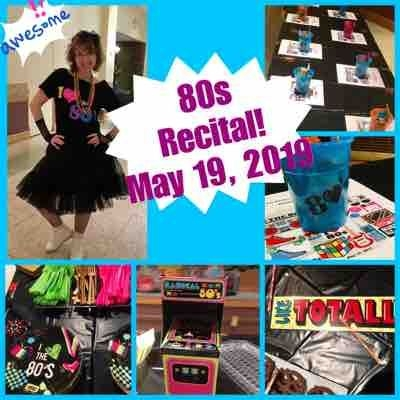 80s Recital! Totally Awesome Dude! 🎶