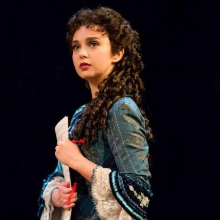 Me on Broadway, playing Christine Daae! What a dream come true!
