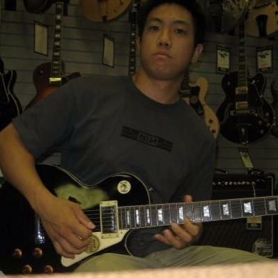 An older picture of me jamming at my old favorite store Bailey Brothers in Birmingham.
