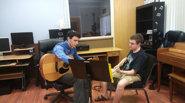 Explaining Chords to a New Student!