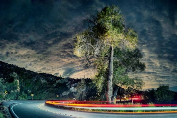 """Untitled"" - Sample of Long-Exposure Night Photography and Photoshop Layer Manipulations"