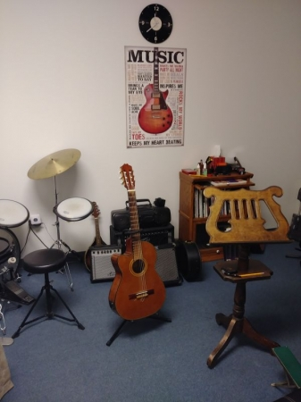 My Music Studio where I give my lessons located at   379 E. Broadway St., Suite 1008, Oviedo, FL 32765