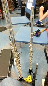 Had to bring out the Triple Threat (piccolo, flute, and alto flute) for a production of Once on This Island