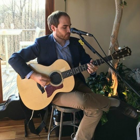 Performing at Fainting Goat Vineyards in 2015