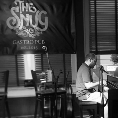 Performing at The Snug in Canton, Ga.