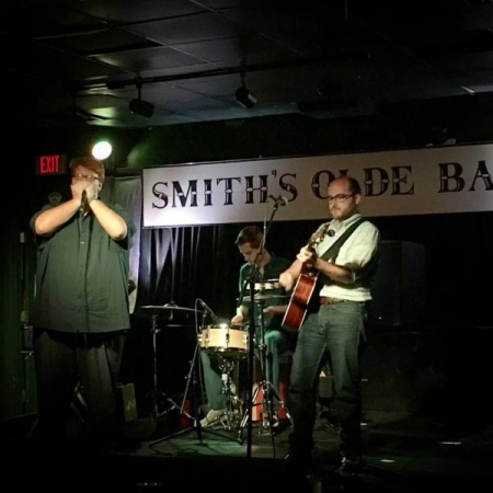 Performing live at Smith's Olde Bar in Atlanta, Ga.