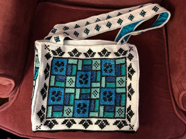 Stained Glass Window Tote.