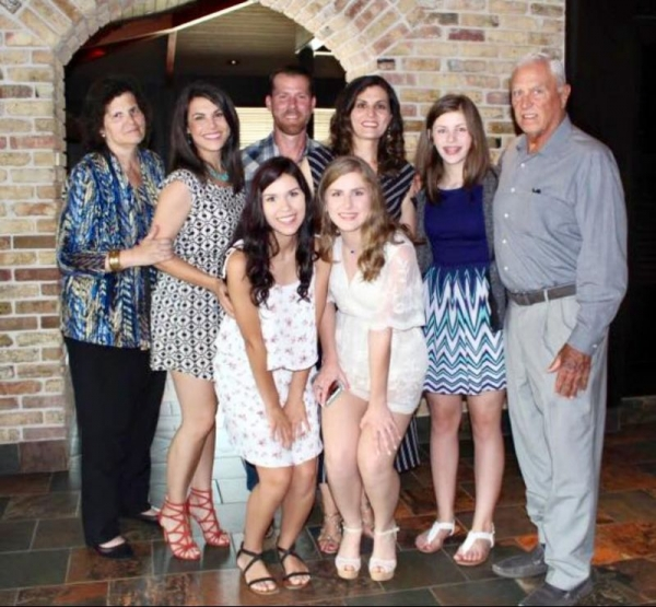 My immediate family - (minus the hubs who was stationed in Korea during this time). <3