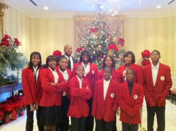Performance: Governor's Mansion Holiday performance