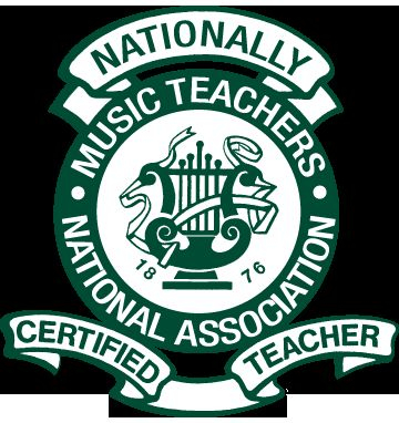My insignia as a nationally certified piano teacher