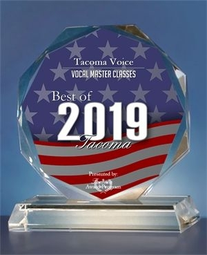 """Dan Hegelund has won teaching awards for six consecutive years, including the """"Tacoma Best Vocal Coach 2019""""."""