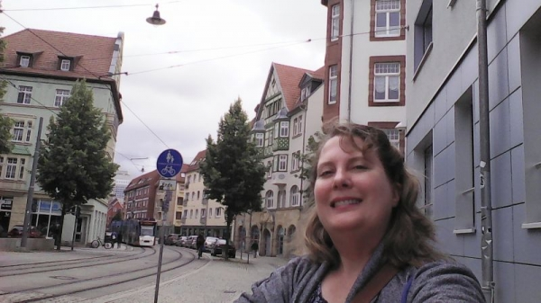 Erfurt, Germany where only German is spoken. I understand the challenge my English Language Learners have.