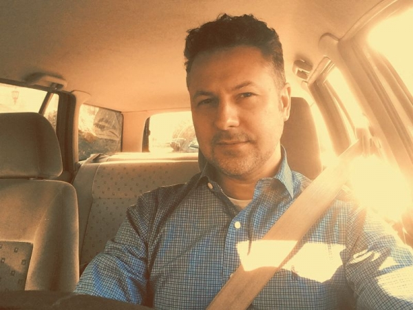 Driving to teach a workshop
