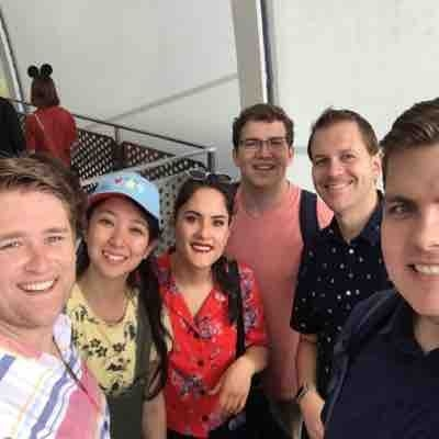 Shanghai Disney at the end of the BYU Spectacular tour to China
